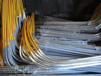 Цокольный ввод для газопровода