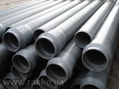 ПВХ трубы диаметром 90-500 мм